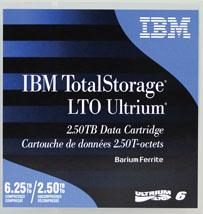 IBM ULTRIUM LTO-6 2.5TB/6.25TB