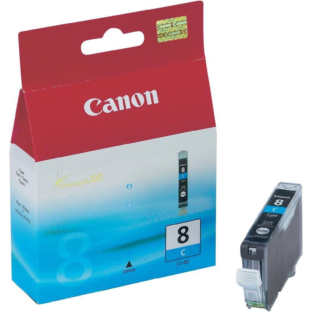 CANON CARGA INYECCION TINTA CIAN CLI-8C IX/4000/5000 IP/4200