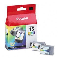 CANON CARGA INYECCION TINTA COLOR BCI-15CL PACK 2 I/70/80
