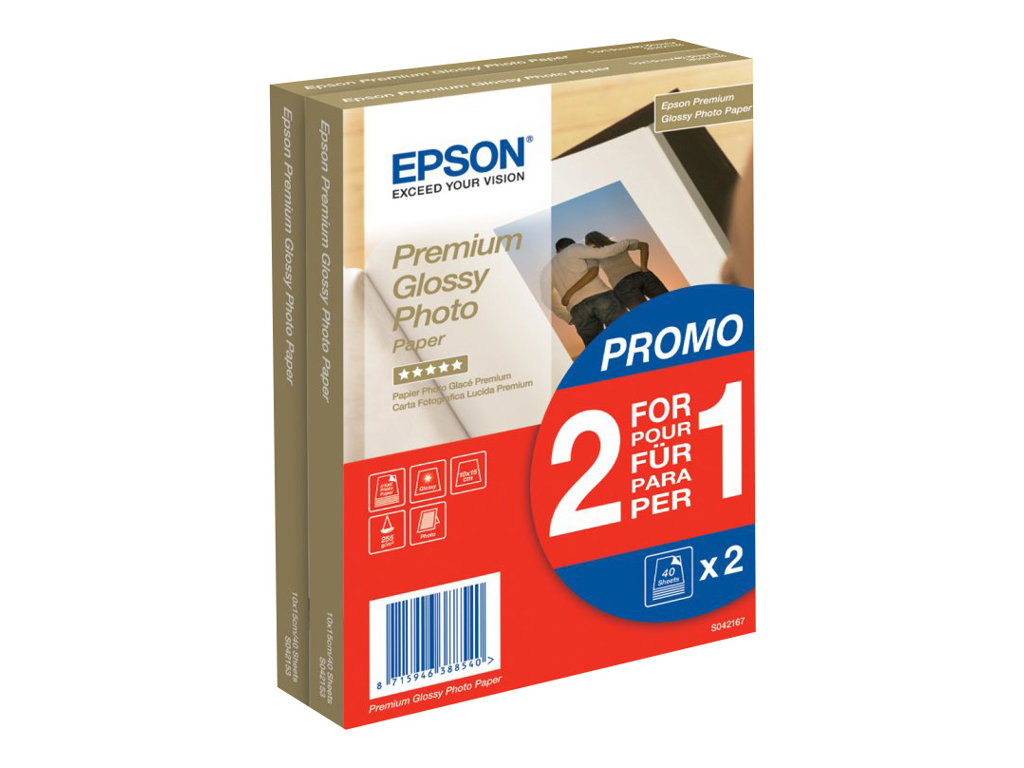 EPSON PAPEL INKJET 2X1 FOTOGR FICO 121690 INDIVIDUAL