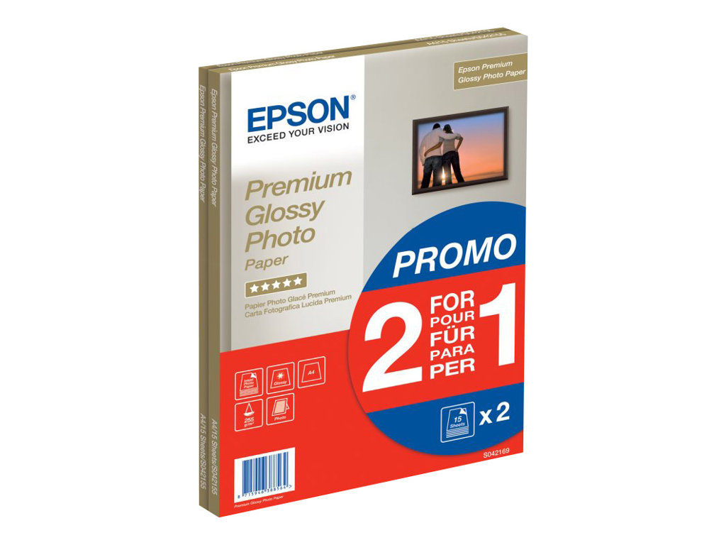 EPSON PAPEL INKJET 2X1 FOTOGR FICO GLOSSY IGUAL QUE 121700