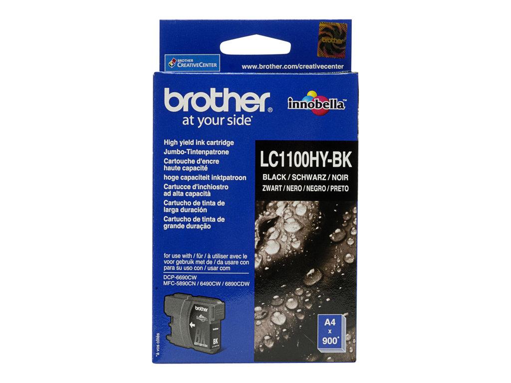 BROTHER CARTUCHO INYECCION TINTA NEGRO 900 P GINAS MFC/5890C
