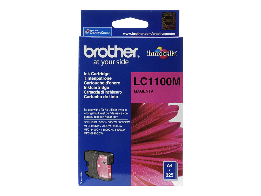 BROTHER CARTUCHO INYECCION TINTA MAGENTA 325 P GINAS MFC/649