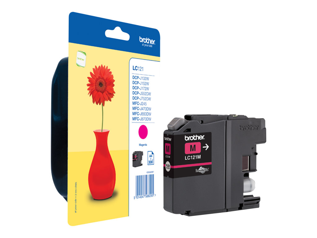 BROTHER CARTUCHO INYECCION TINTA MAGENTA 300 PGINAS BLISTER