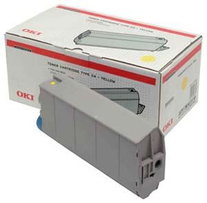 OKITONER AMARILLO 10.000 P GINAS C/7100/7300/7350/750EXTINGU