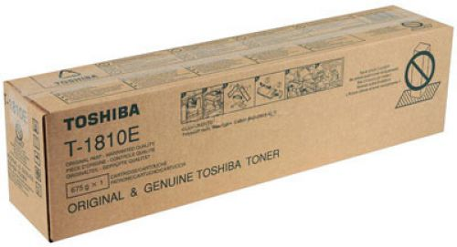 TOSHIBA TONER COPIADORA NEGRO T-1810E 24.000 PAGINAS E-STUDI