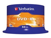 VERBATIM DVD -R 4.7GB 16X SPINDLE 50 ADVANCED AZO