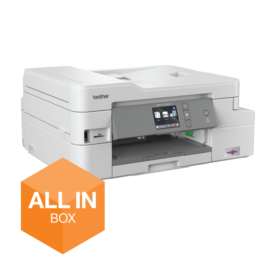 BROTHER DCP-J1100DW MULTIF. INKJET WIFI DUPLEX ADF ALL INBOX