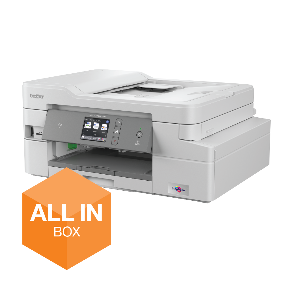 BROTHER MFC-J1300DW MULTIF. INKJET WIFI DUPLEX FAX ALL INBOX