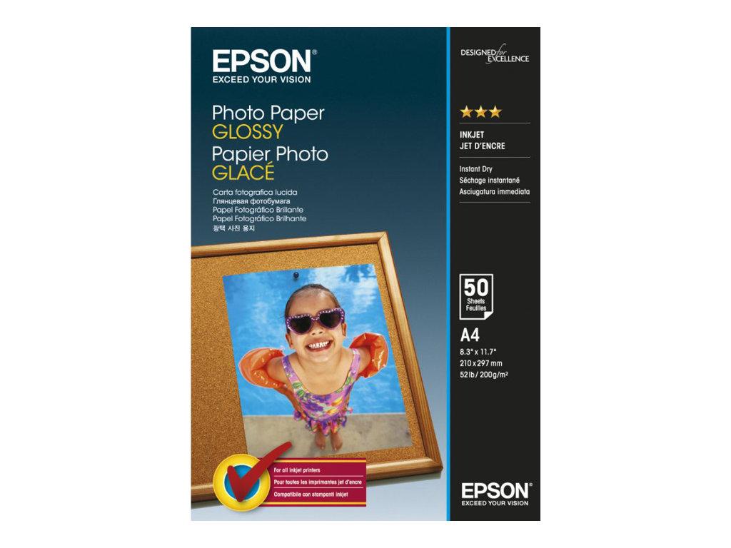 EPSON PAPEL INKJET FOTOGRFICO GLOSSY A4 50 HOJAS