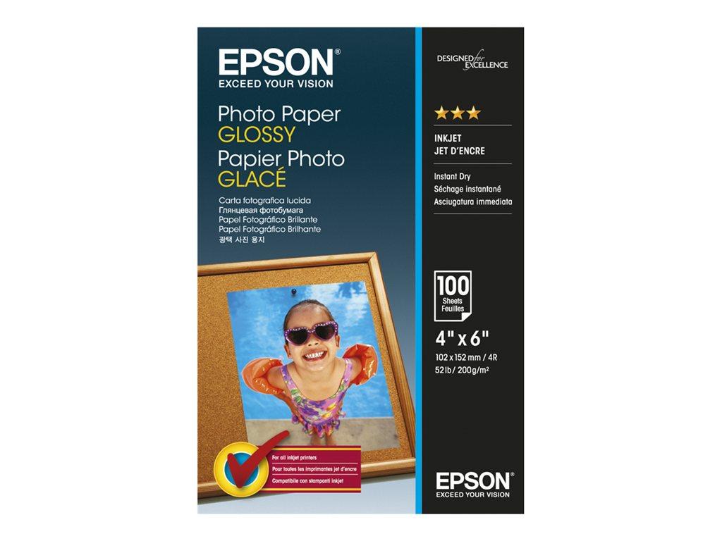 EPSON PAPEL INKJET FOTOGRFICO GLOSSY 10X15 100 HOJAS
