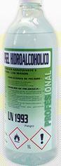 Gel hidroalcohólico en botella de 1 litro